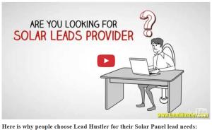 LeadHustler solar video